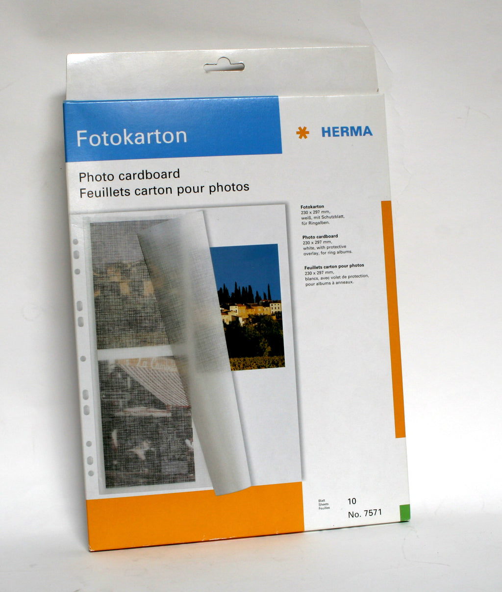 Herma Photo Cardboard Pack Of Ten