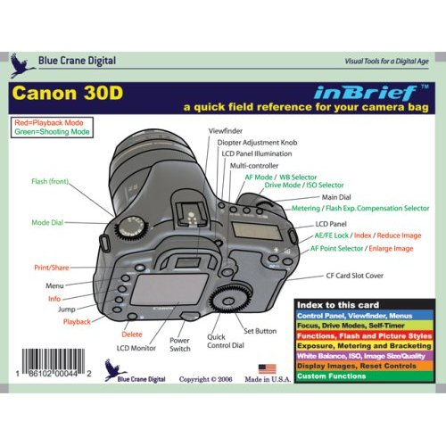 Blue Crane In Brief Guides For Canon DSLRs