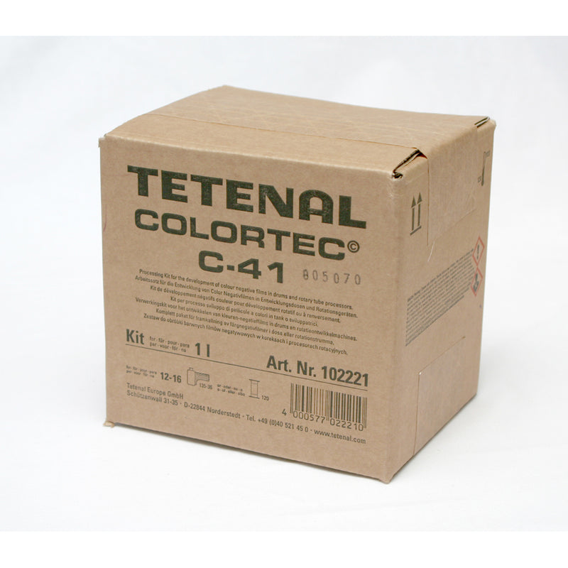 Tetenal COLORTEC C-41 Negative Rapid 2 Bath Kit  Colour Film Developer
