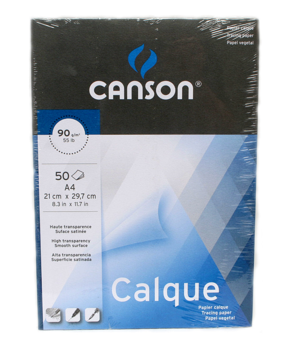 Canson Calque Satin 90gsm Tracing Paper Pad