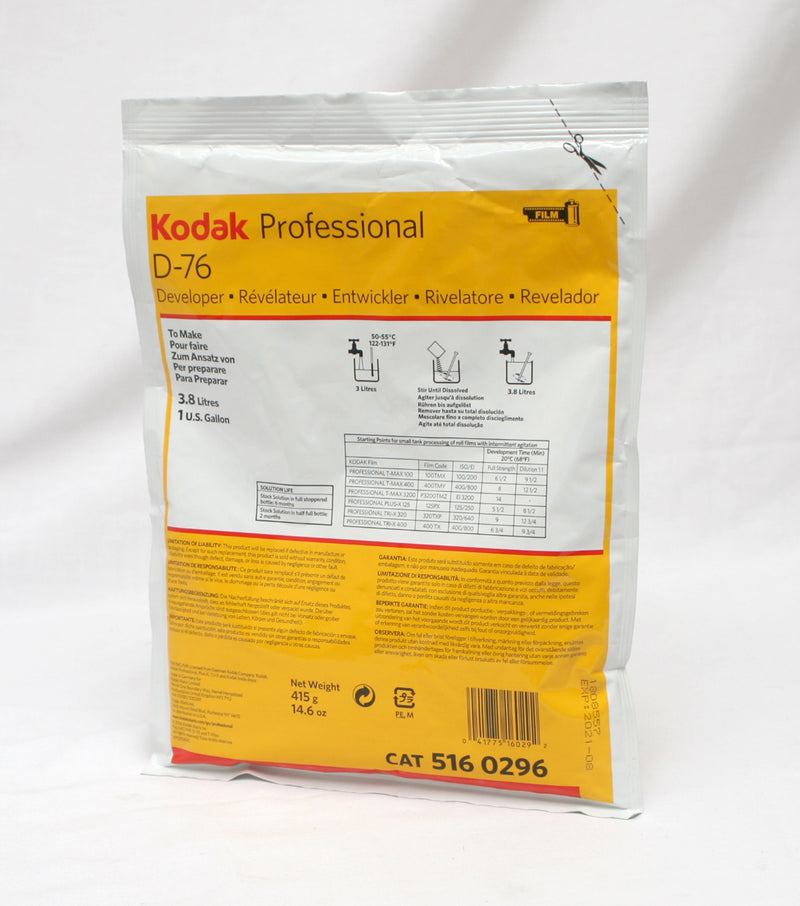 Kodak D-76 Film Developer