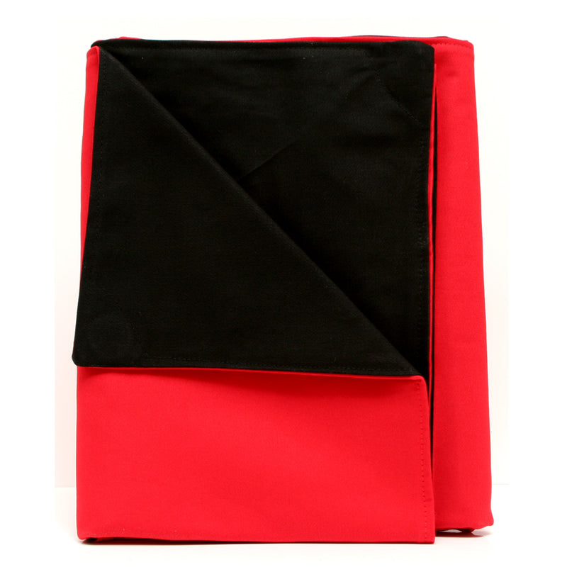 Focusing Cloth Black/Red For Large Format Cameras