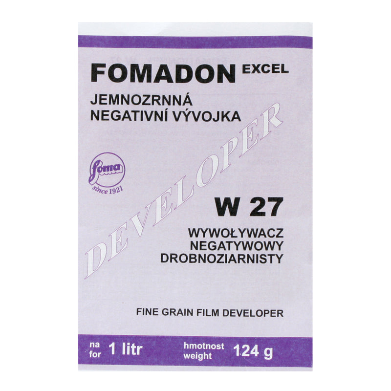 Foma Fomadon Excel W27 Powder Film Developer 1 Litre