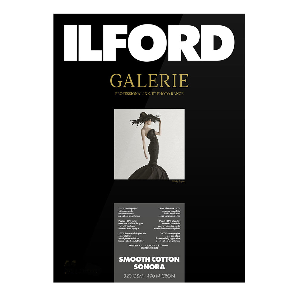 Ilford Galerie Smooth Cotton Sonora 320gsm