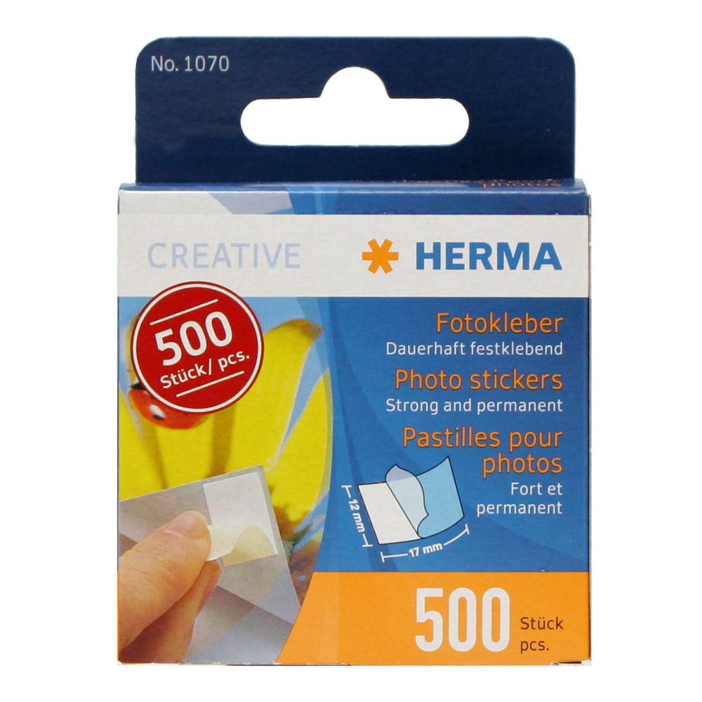 Herma Photo Stickers 17mm x 12mm 500pcs