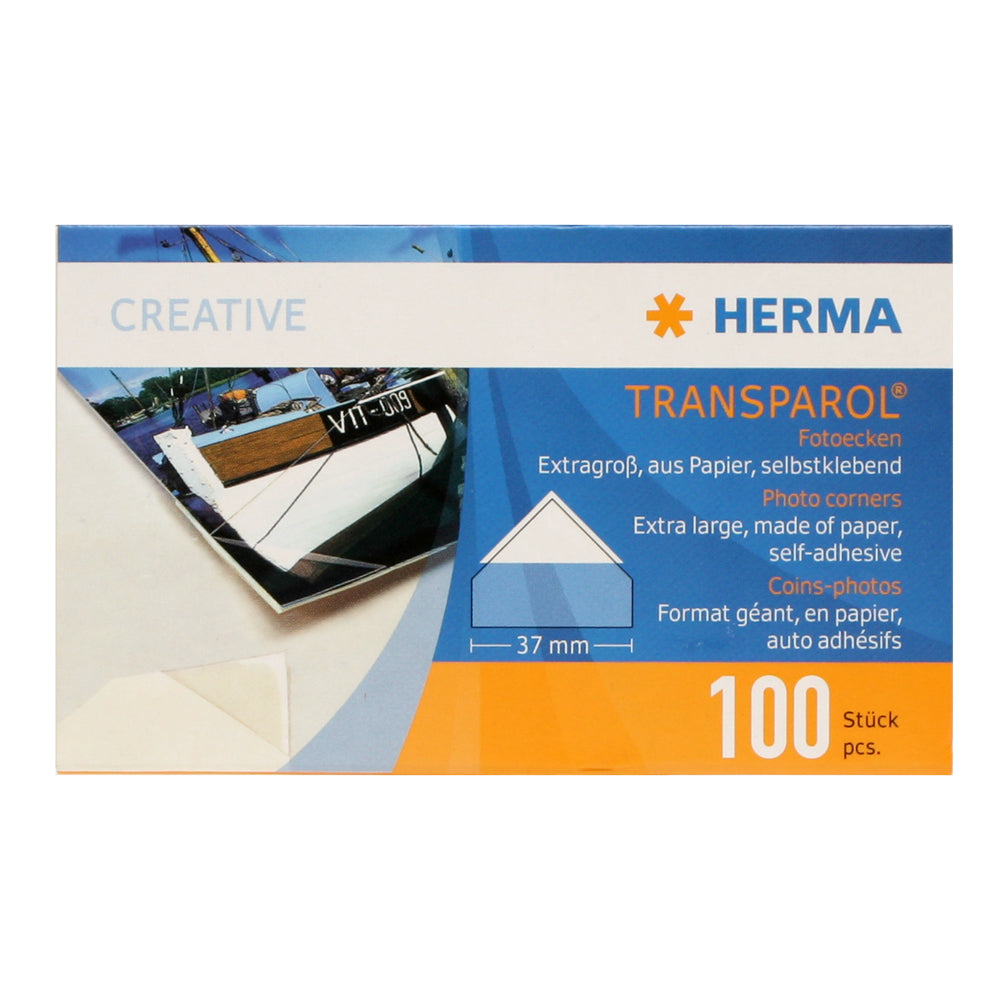 Herma Photo Corners 37mm 100 pcs self-adhesive
