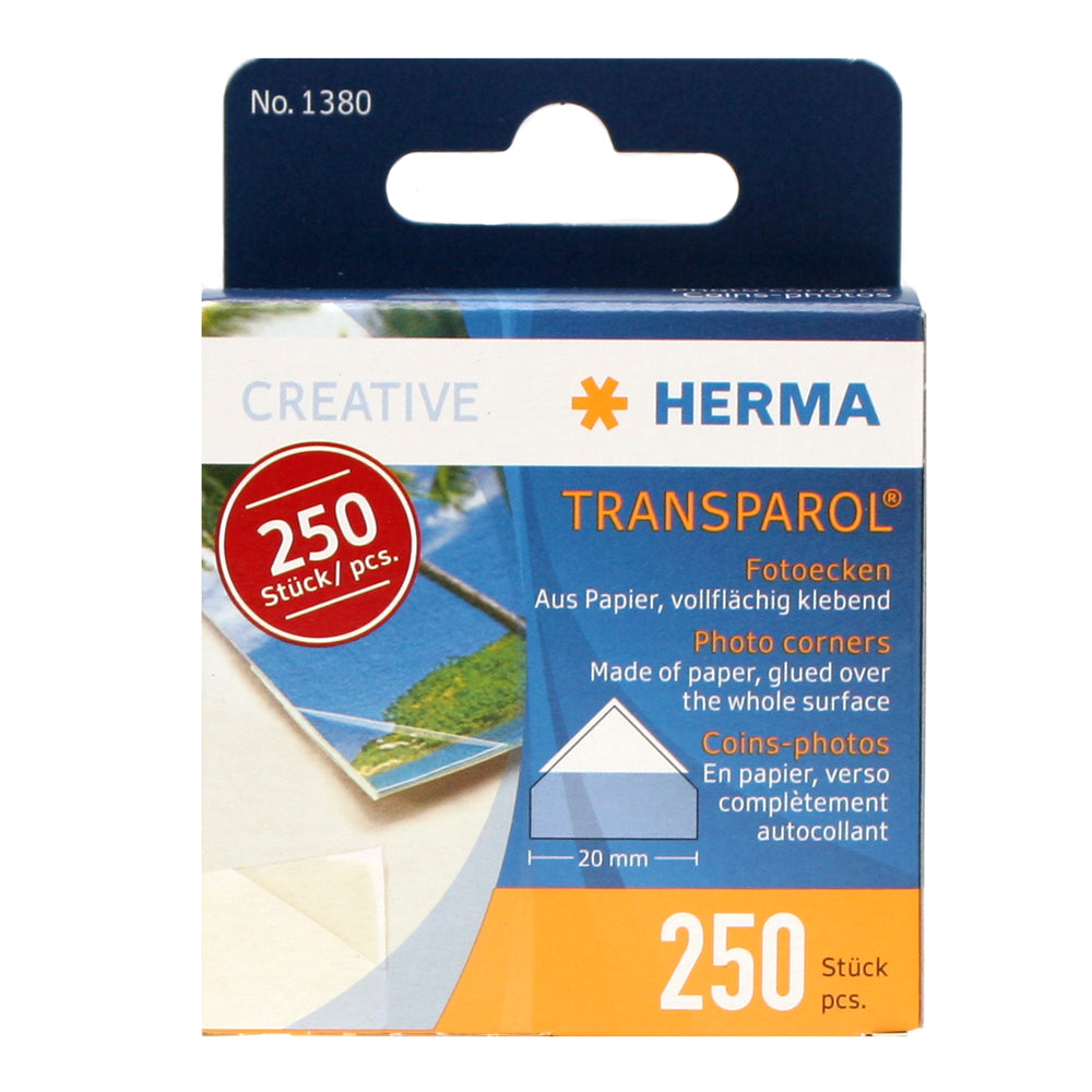 Herma Photo Corners 20mm 250 pcs