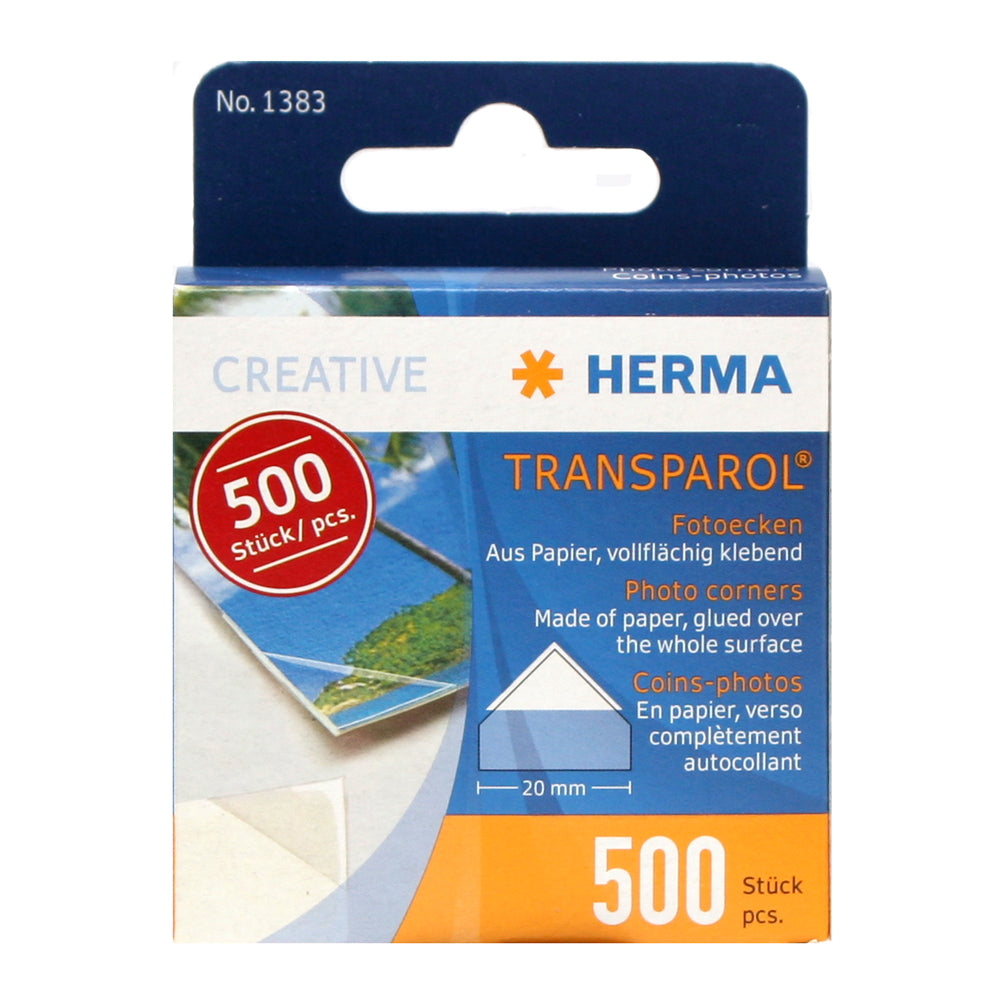 Herma Photo Corners 20mm 500 pcs