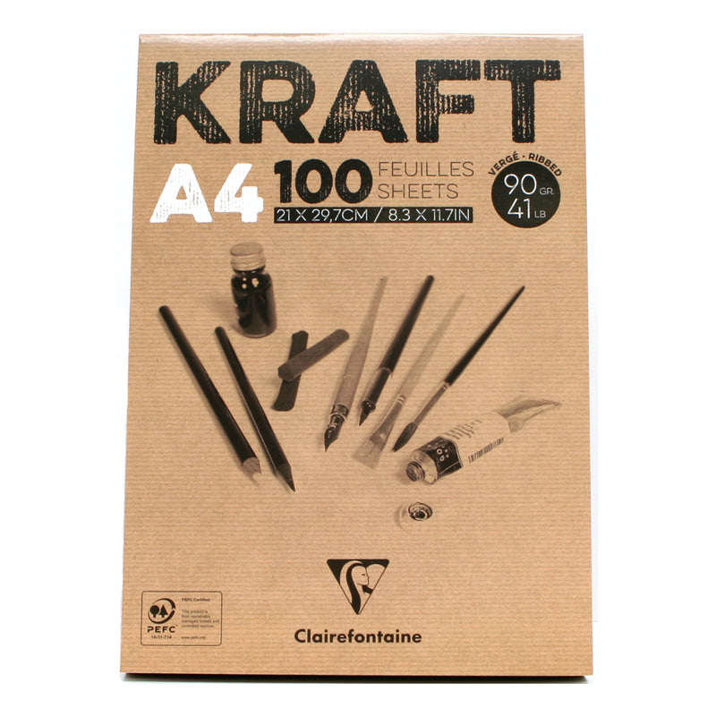Clairefontaine Kraft Pad 90gsm