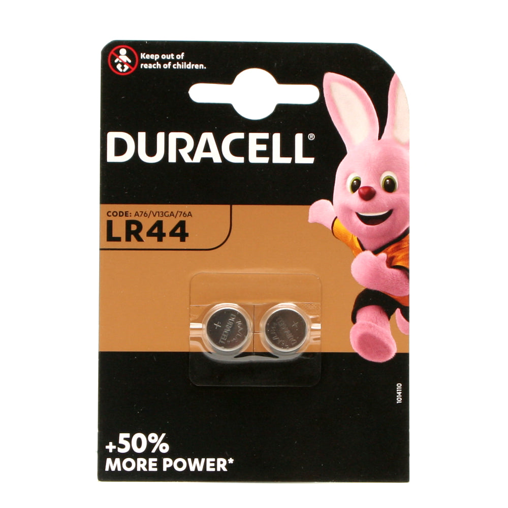 Duracell LR44 Batteries Pack Of Two