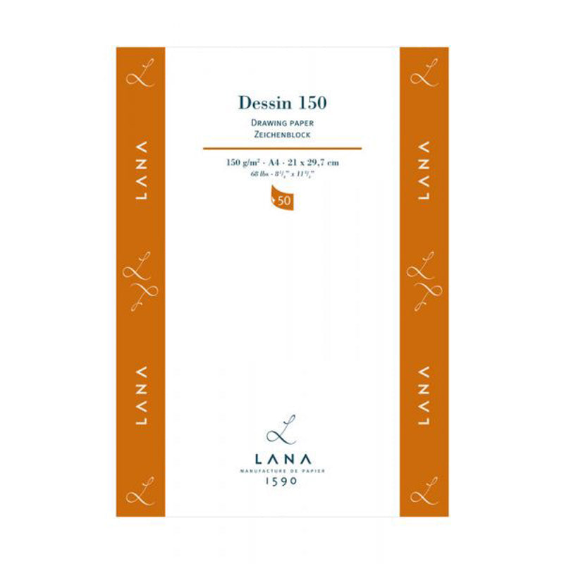 Lana Dessin Drawing Paper 150gm 50 Sheets