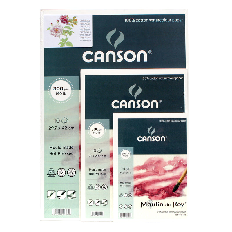Canson Moulin du Roy Hot Pressed 300gsm