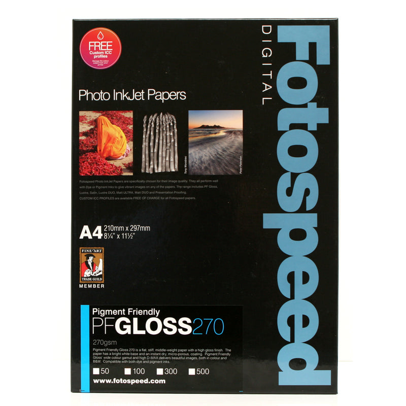 Fotospeed  Pigment Friendly Gloss 190gsm