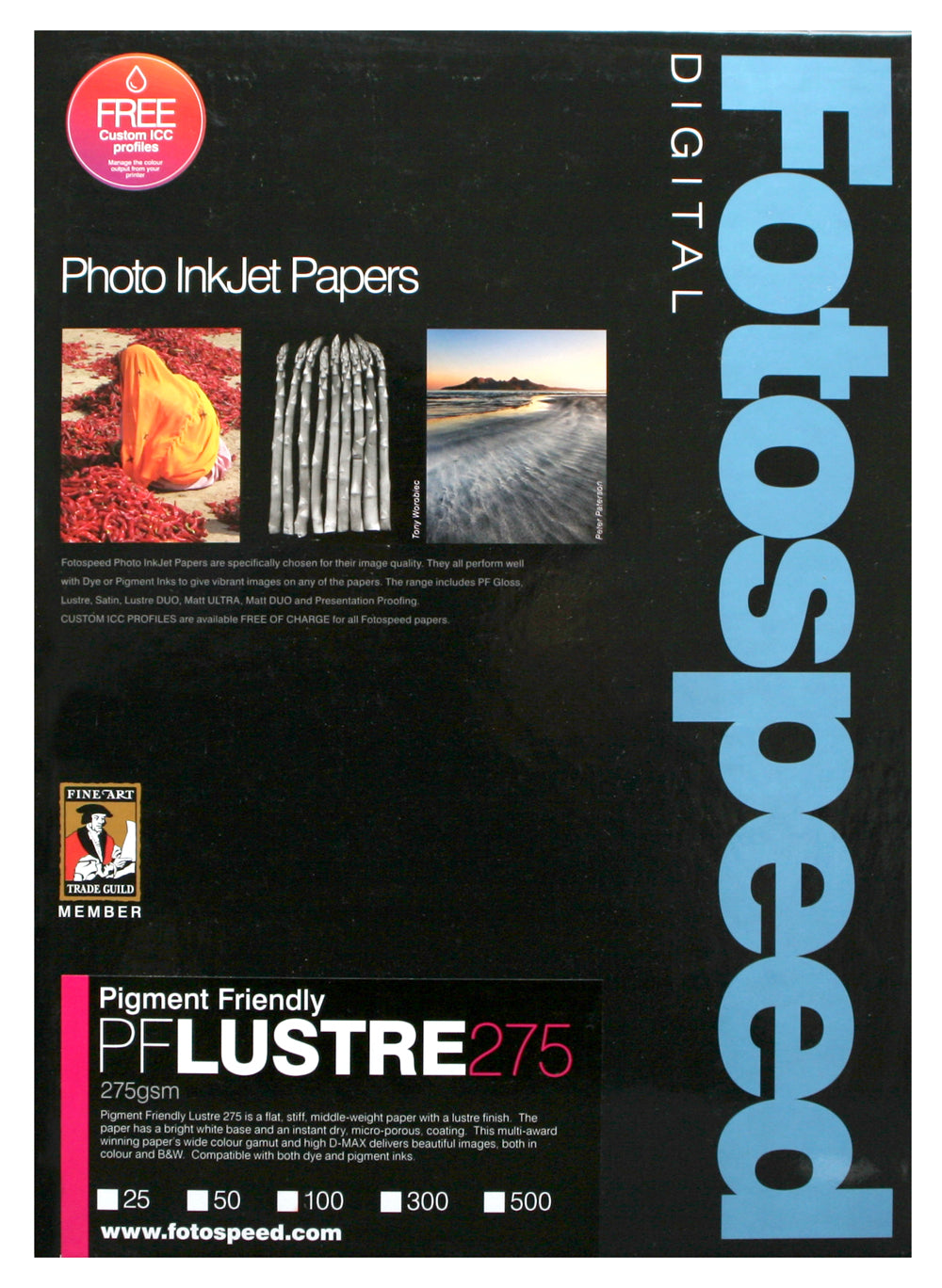 Fotospeed Pigment Friendly Lustre 275gsm