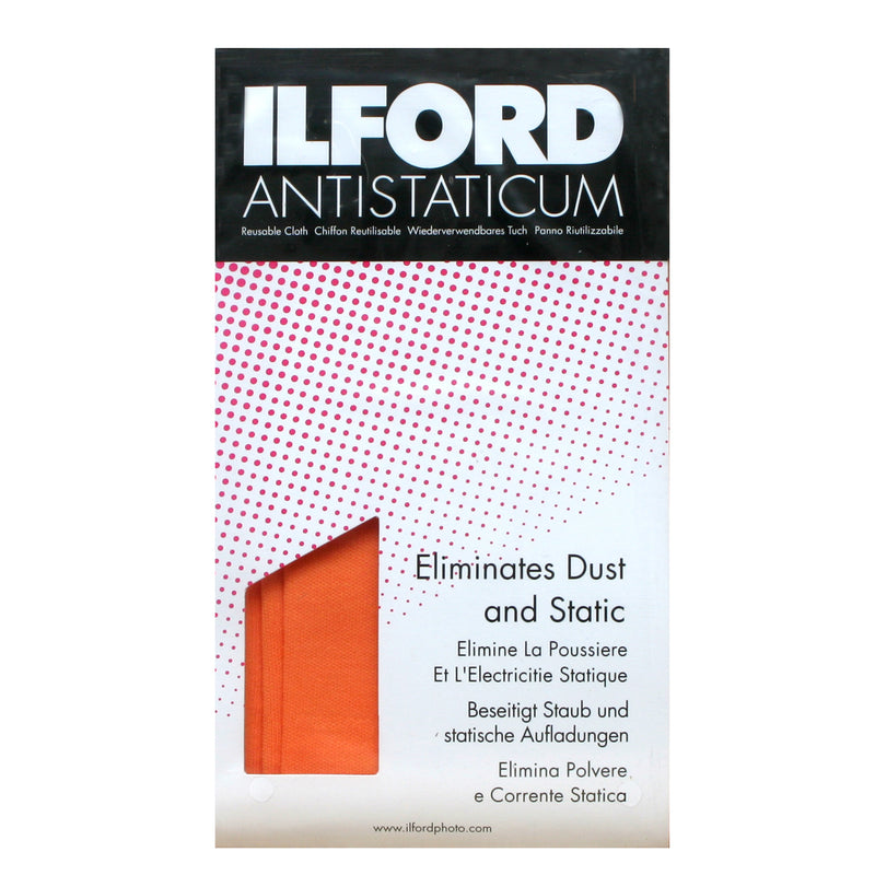 Ilford Anti-Static Cloth - Orange