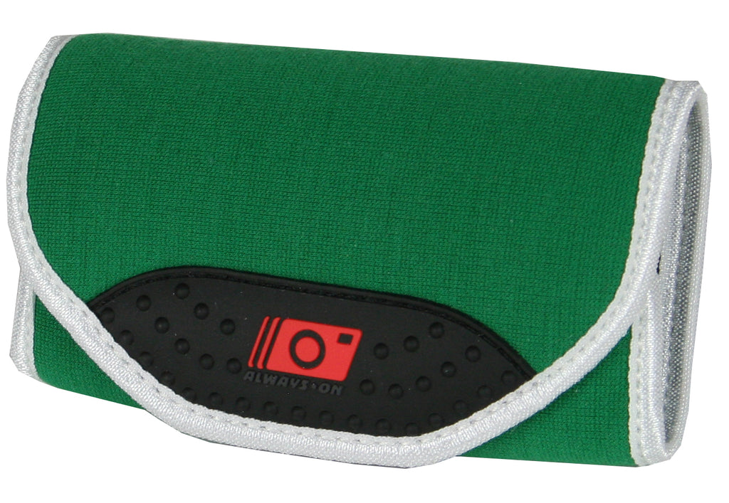 Always On Camera Wrap - Green and White Neoprene