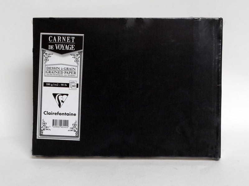 Clairefontaine A5 Carnet de Voyage 60 pages hardcover 180gsm sketch book