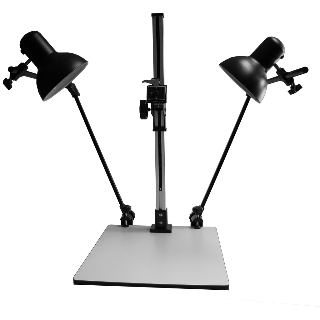 CS 720 Large Copy Stand Animation Rostrum 72 cm Max Height With Lights