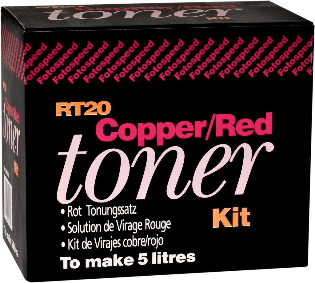 Fotospeed RT20 Copper/Red Toner Kit 150ml to make 1.5L