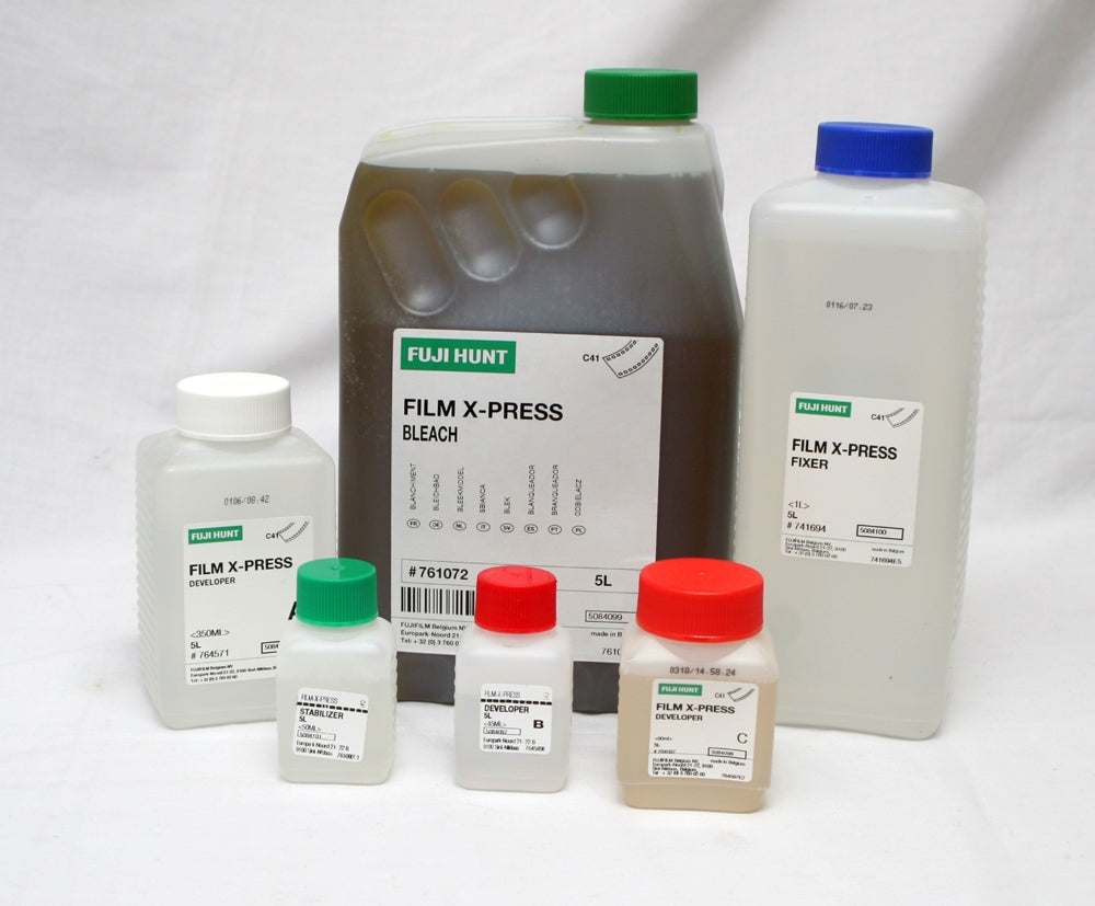Fuji X-Press C41 Film Processing Kit 5 Litres