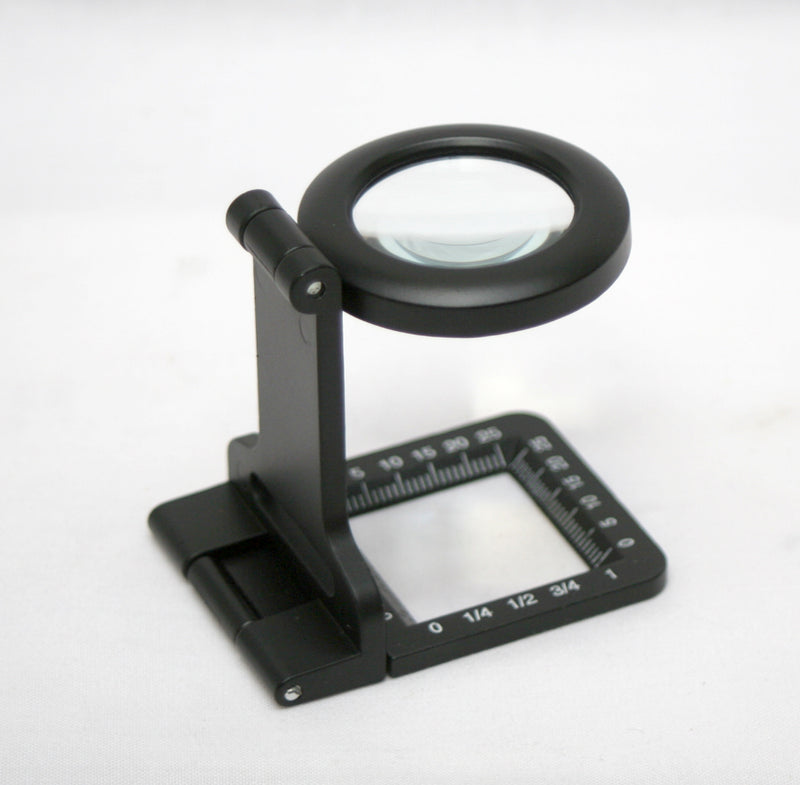 Carson 5x 30mm Folding Metal Magnifier