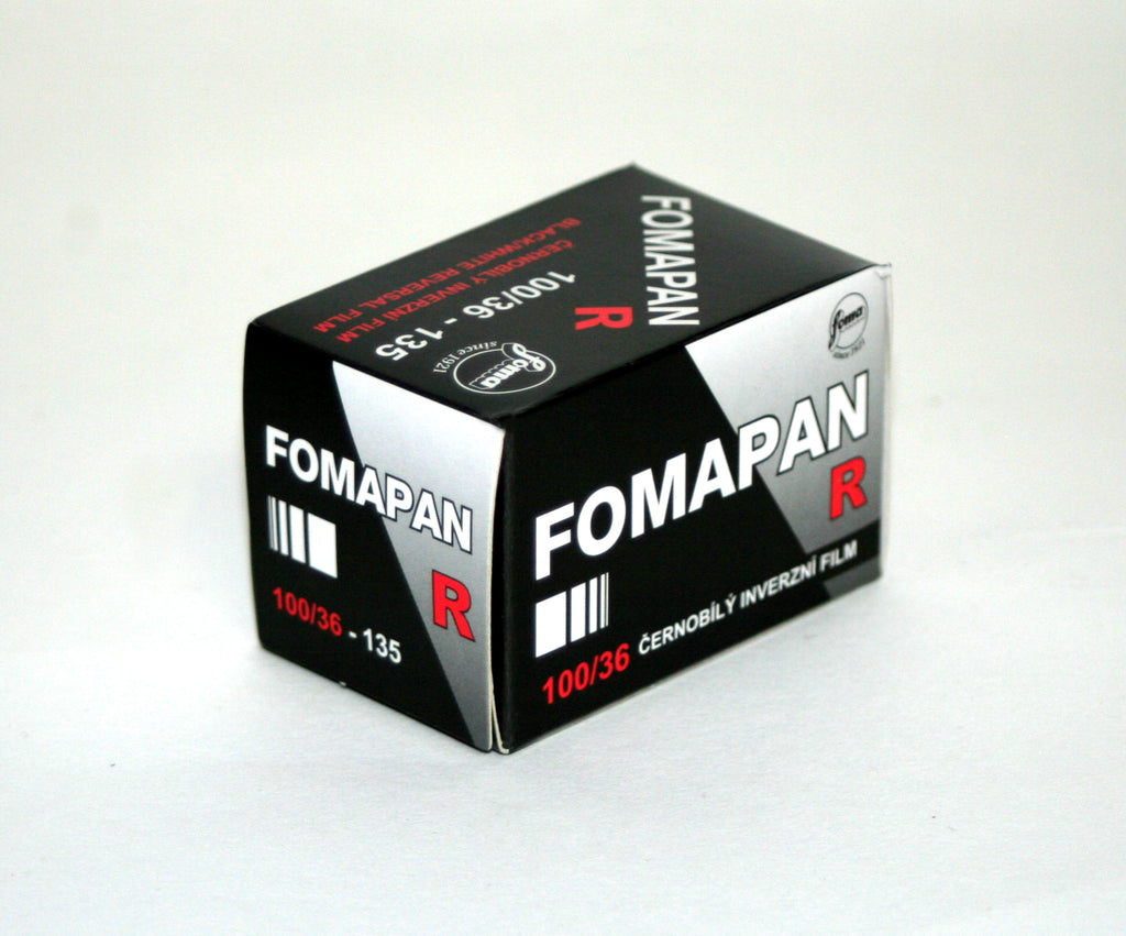 Fomapan R 100ASA Black and White Reversal Film