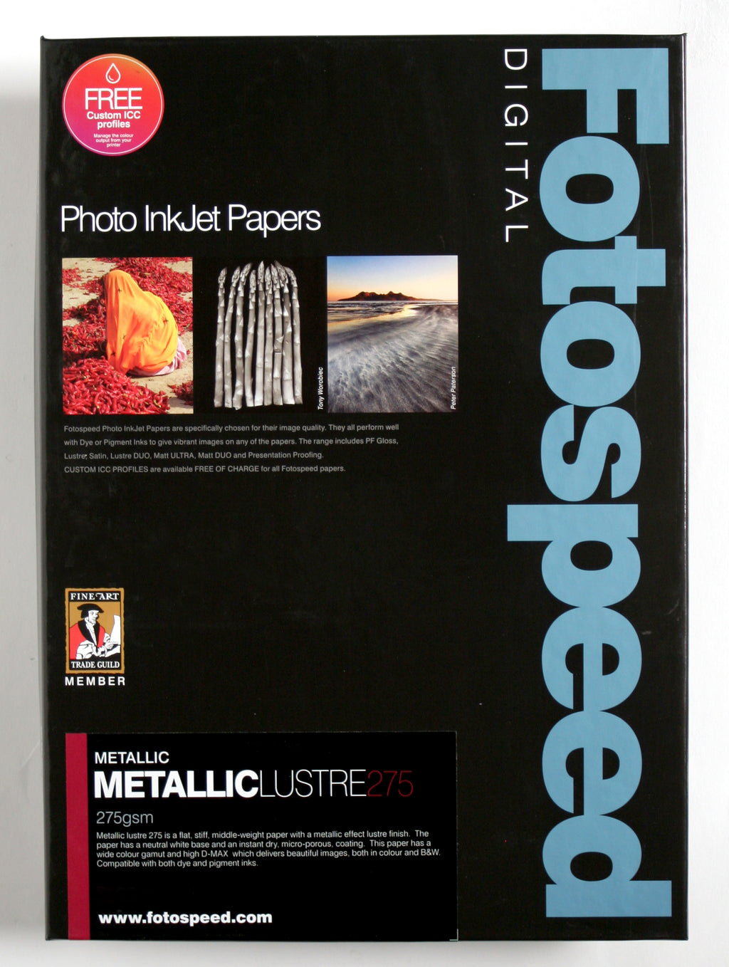 Fotospeed Metallic Lustre 275gsm