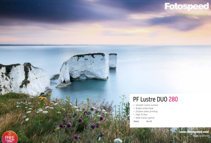 Fotospeed Pigment Friendly Lustre Duo 280gsm