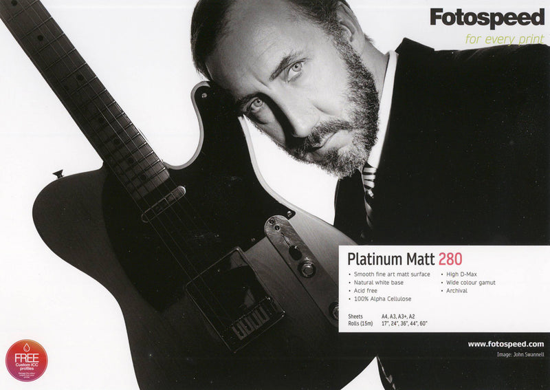 Fotospeed Platinum Matt 280gsm