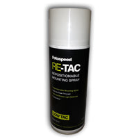 Fotospeed Re-Tac Repositionable Mounting Spray 400ml