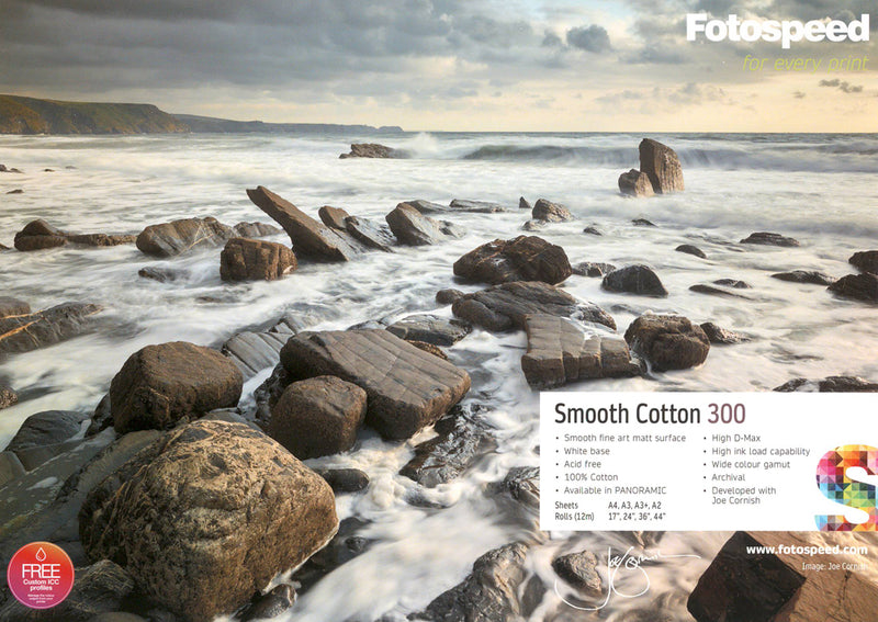 Fotospeed  Smooth Cotton 300gsm Signature Paper