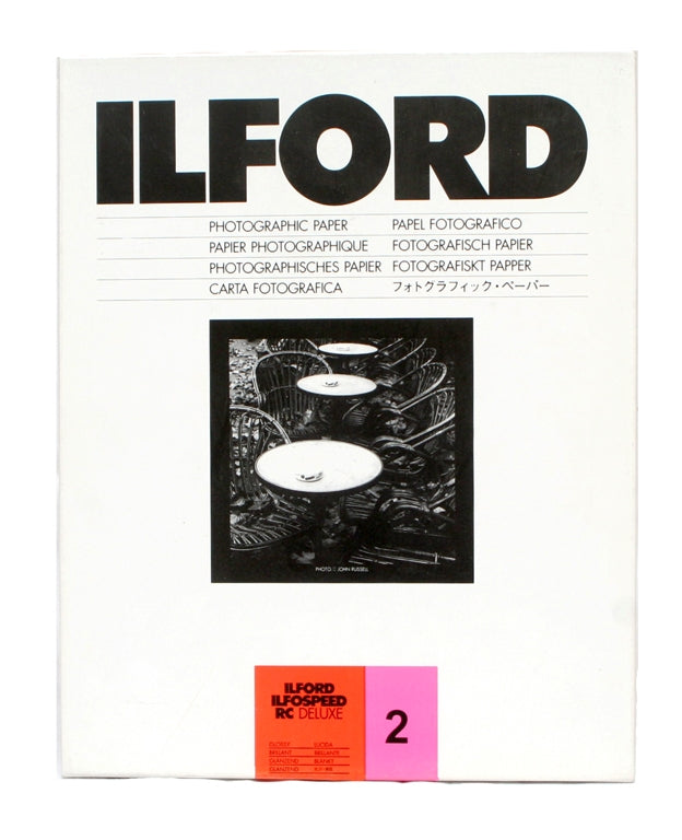 Ilford Ilfospeed RC Grade 2 Gloss