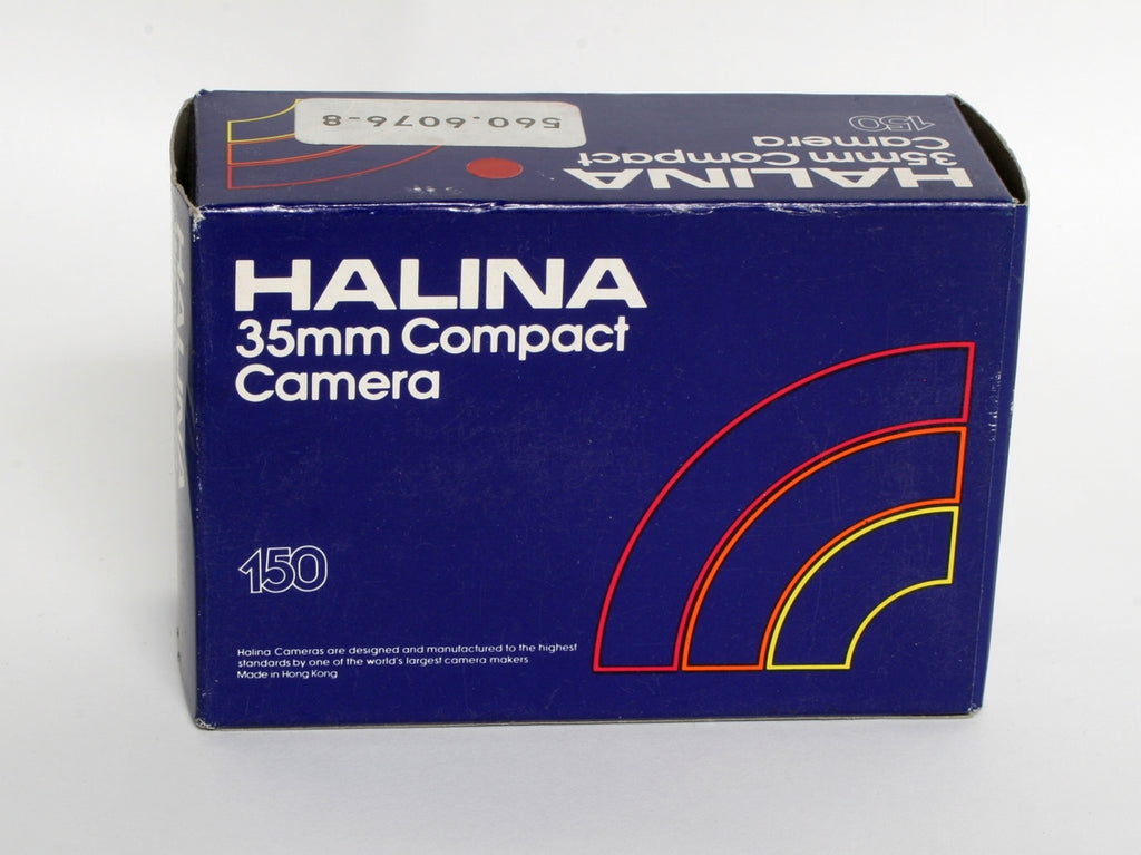 Halina 150 35mm Compact Camera- in box