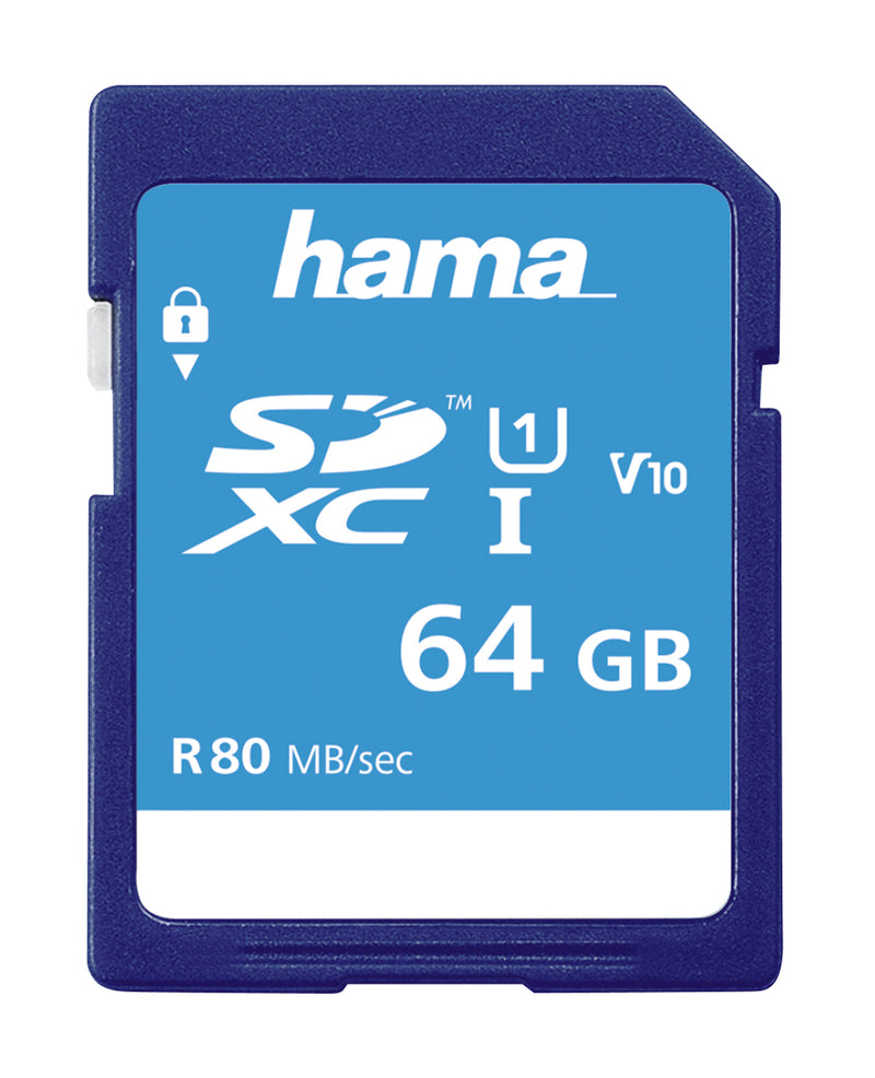 Hama SDXC UHS-I 64GB Card