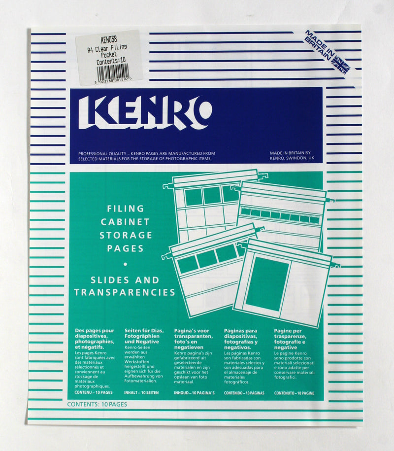 Kenro Filing Cabinet Storage Pages