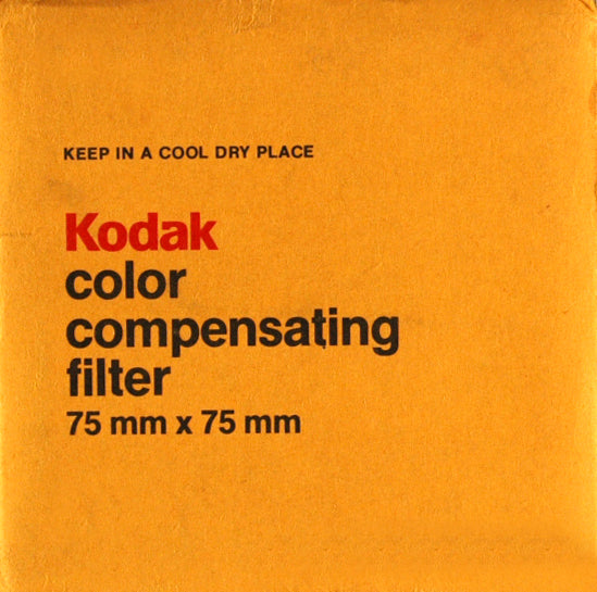 Kodak  Enlarging Filters