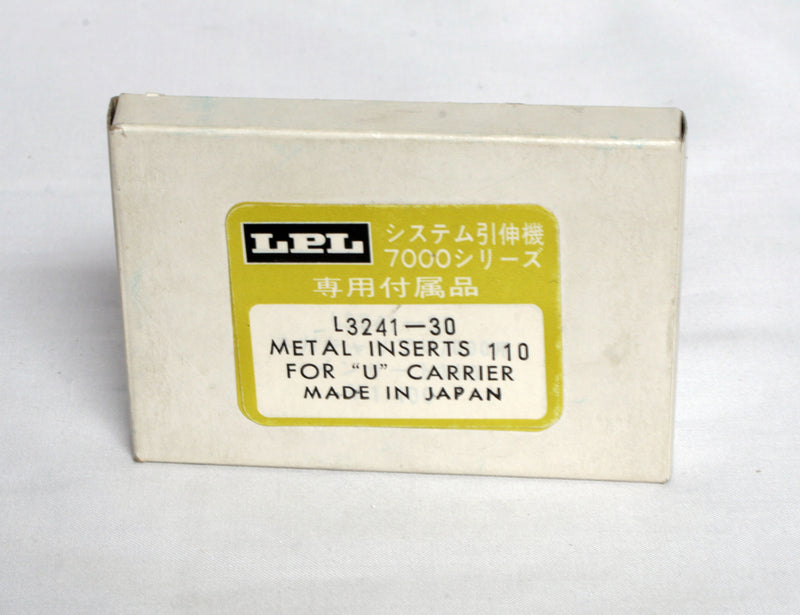 "LPL 110mm Metal Inserts For ""U"" Carrier"