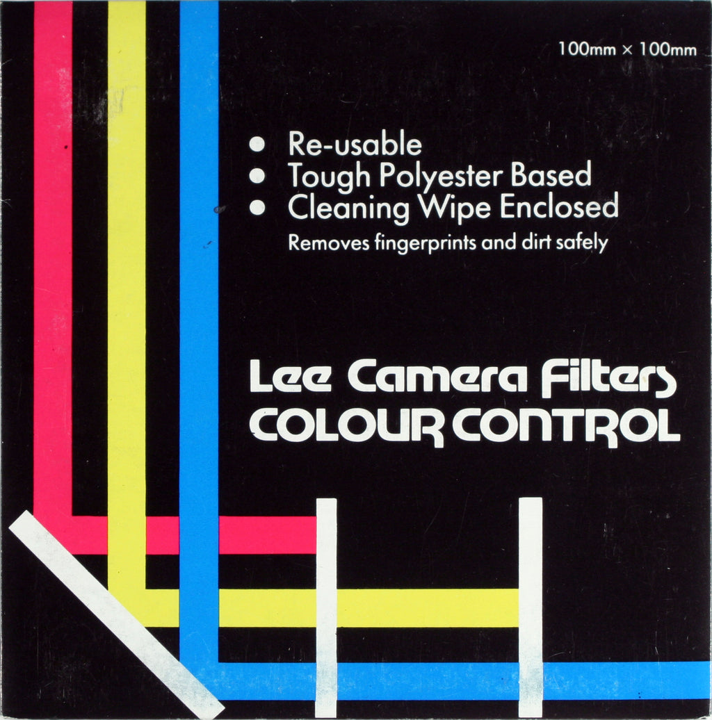 Lee Colour Polyester Filters for B&W Photography 100x100mm