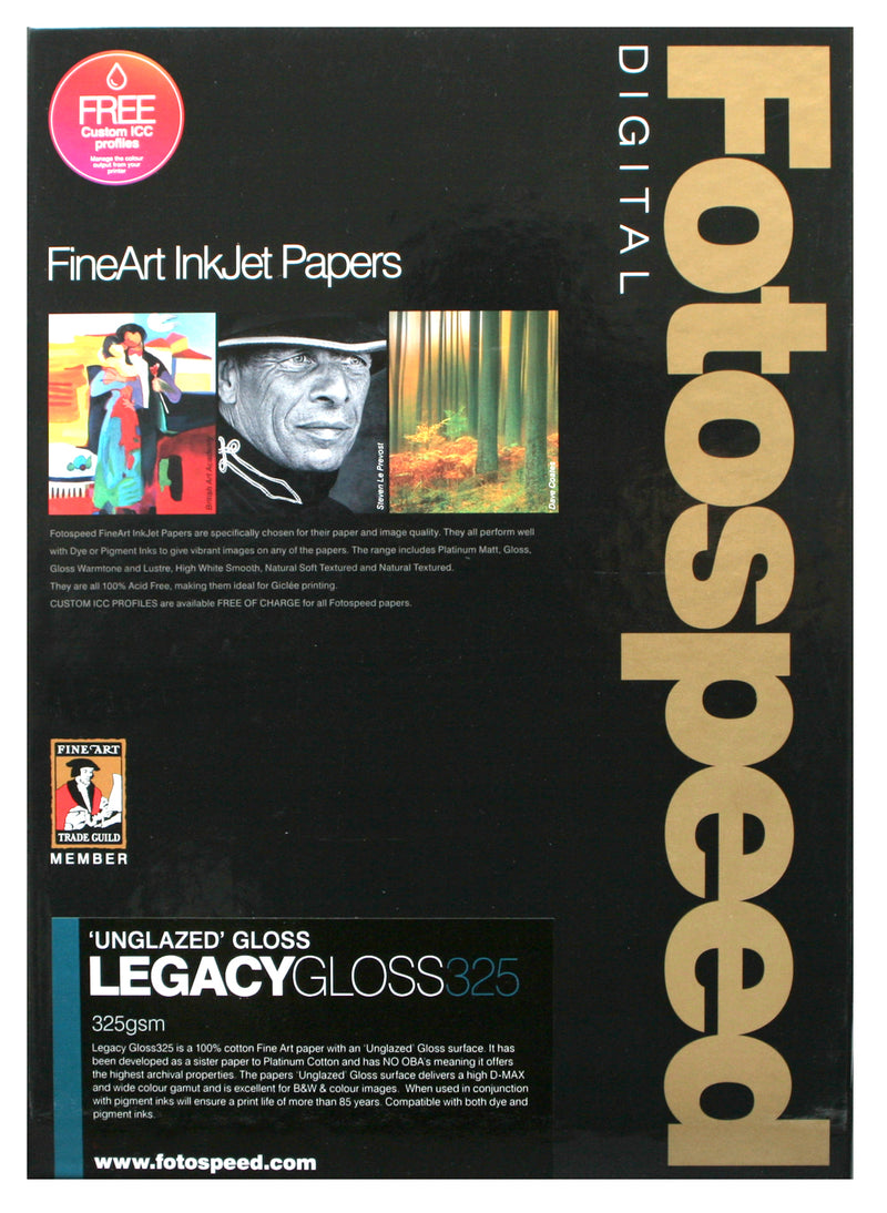Fotospeed Legacy Gloss 325gsm