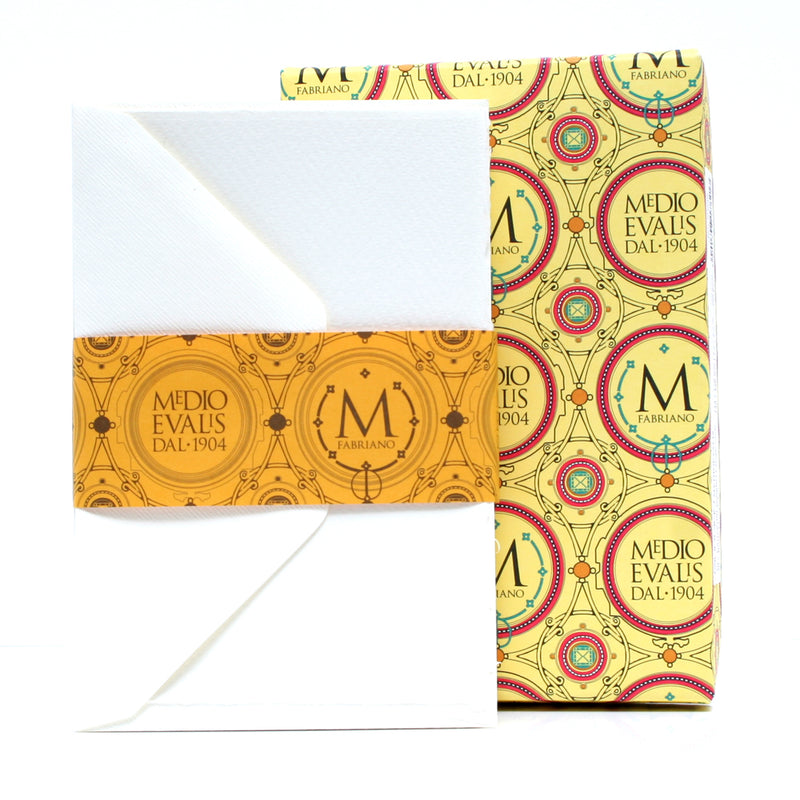 Fabriano Medioevalis Folded Cards and Envelopes Pack Of 20
