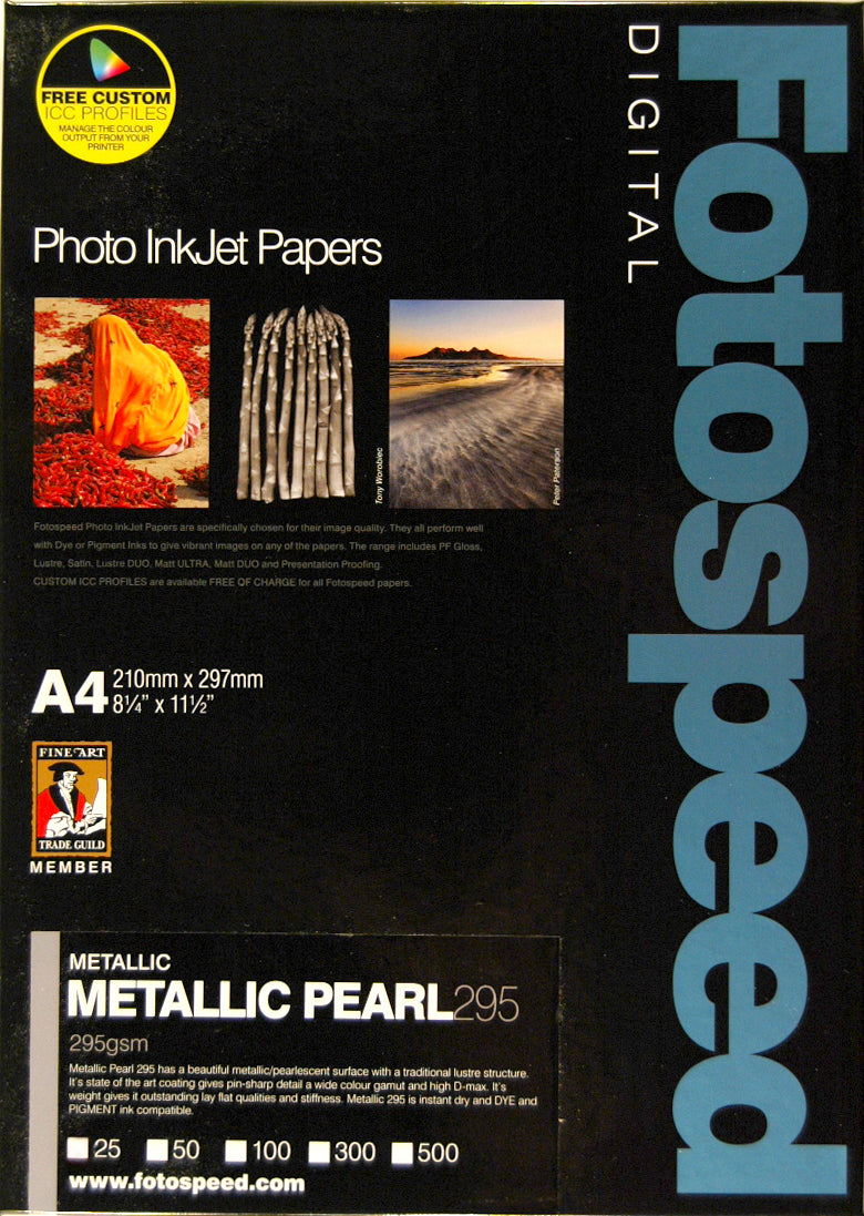 Fotospeed Metallic Pearl 295gsm