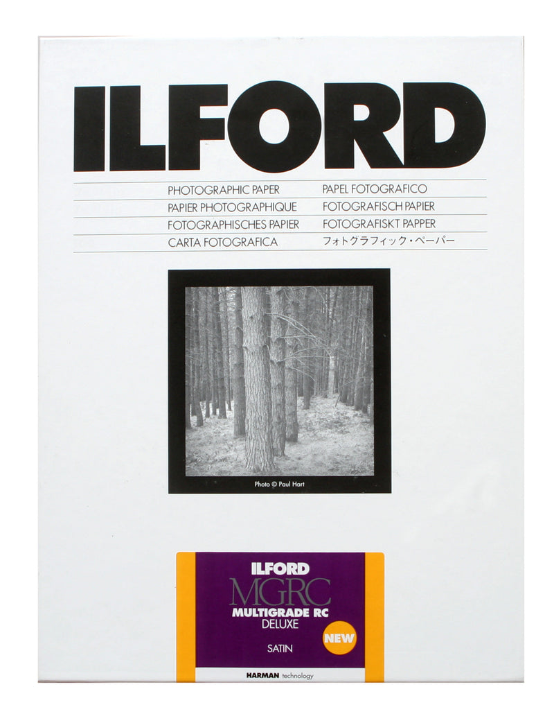 Ilford MGRC 5th Generation Deluxe Satin