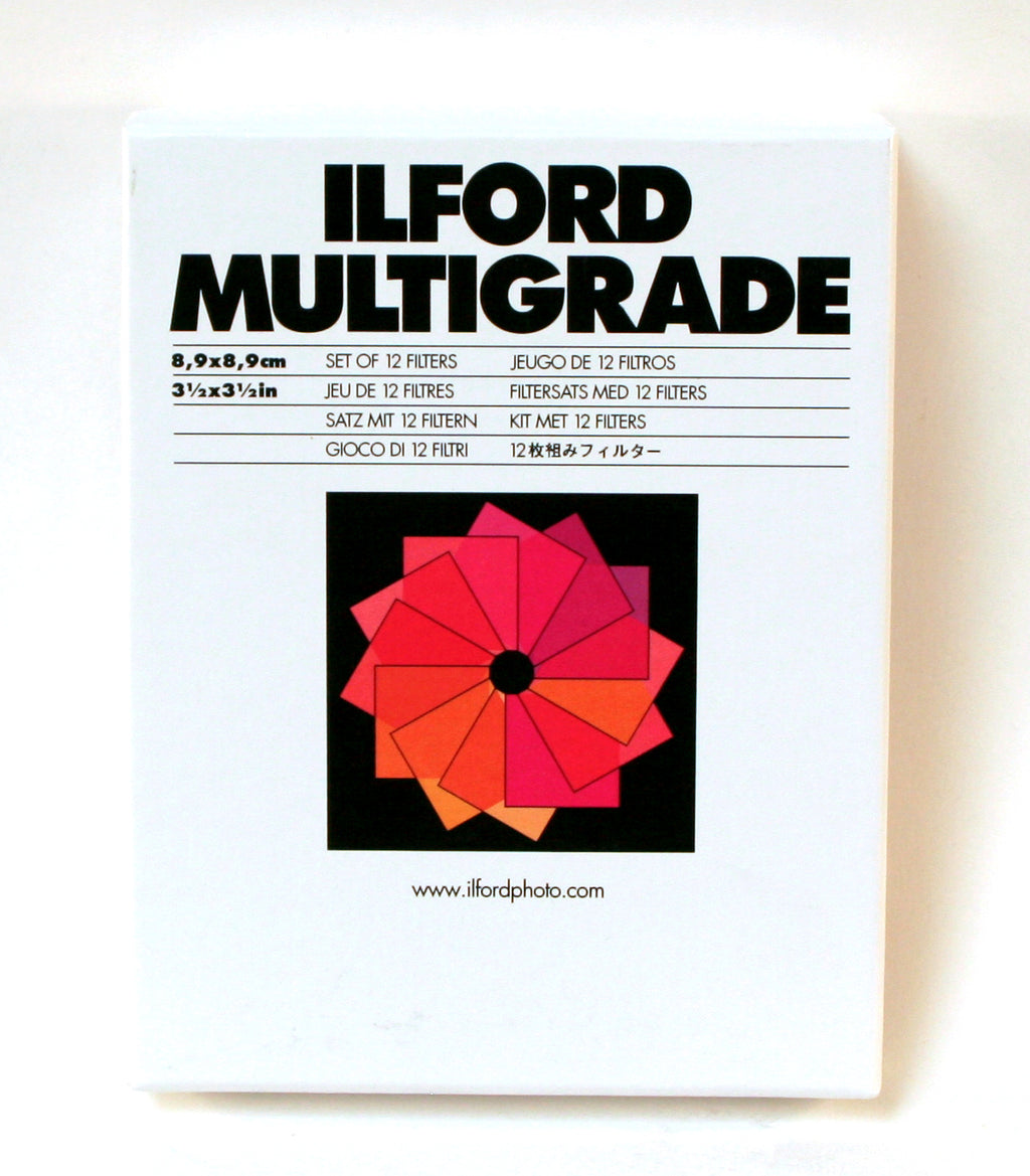Ilford Multigrade Above Lens Filter Kit
