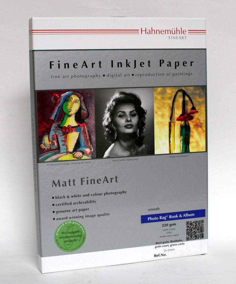 Hahnemühle Photo Rag Book & Album Double-Sided 220gsm