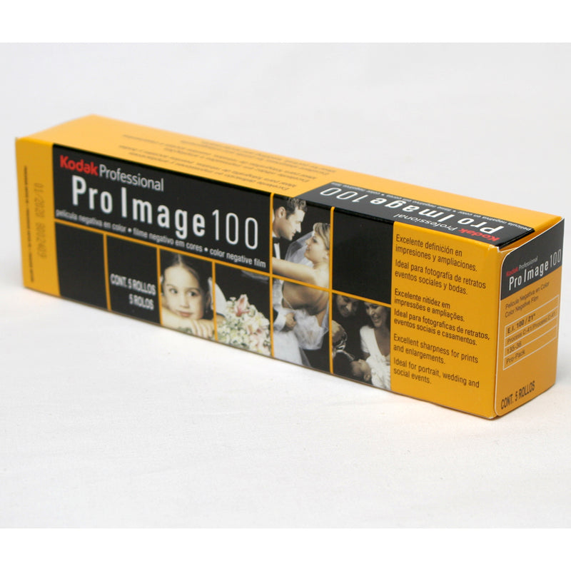 Kodak Pro Image 100 35mm 36 exposures Pack of 5