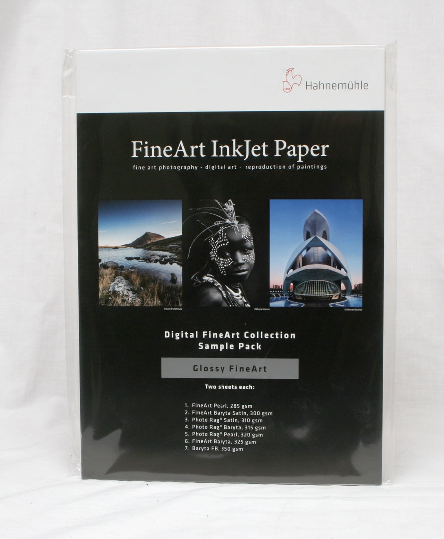 Hahnemühle Gloss Fine Art Inkjet Paper Sample Pack