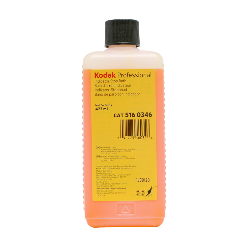Kodak Indicator Stop Bath 473ml