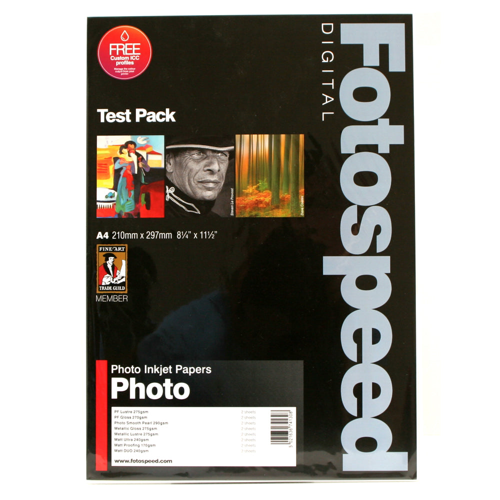 Fotospeed Sample Packs
