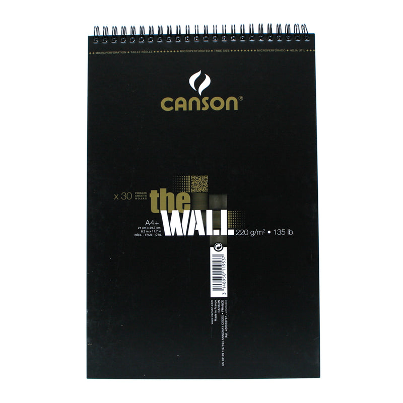 Canson The Wall Album A4+ 220gsm 30 Sheets