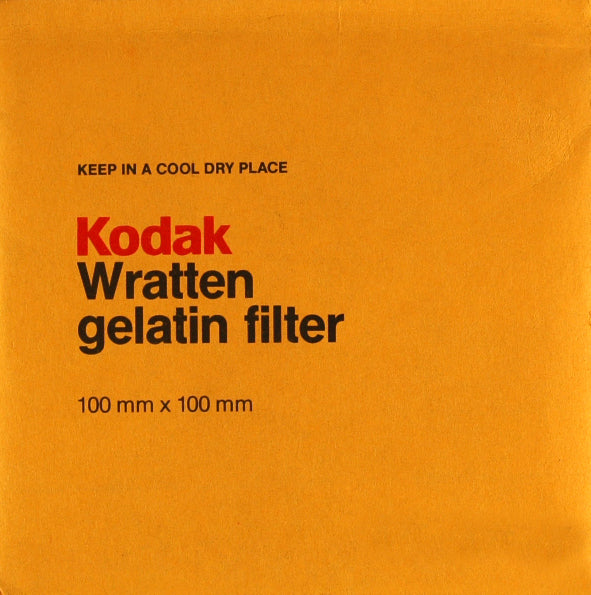 Kodak Wratten Gelatin Filters 100x100mm